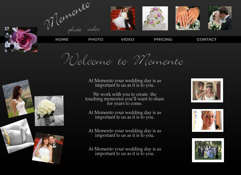 Website design 1 microsoft expression web tips tricks for Best wedding photography websites